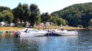le ponton et les bateaux